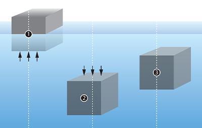 Aprender a bucear, El concepto de la flotabilidad