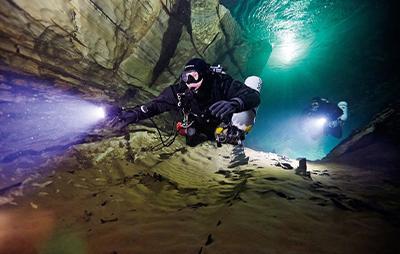 Aprender a bucear, entornos de agua dulce