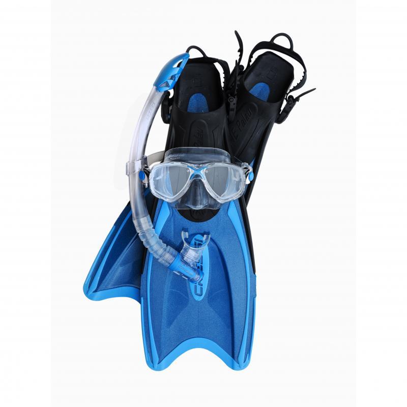 Kit de máscara + tubo + aletas