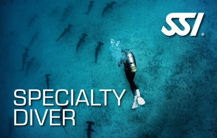 Programa Specialty Diver
