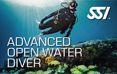 Advanced Open Water Diver: Flotabilidad / Profundo / Navegación / Traje Seco
