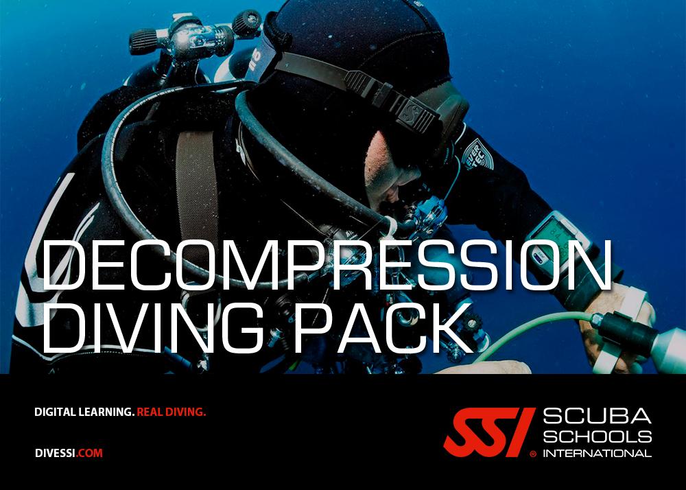 Decompression Diving Pack