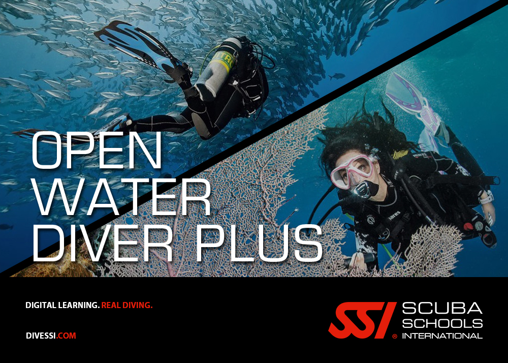 Pack Open Water Diver Plus