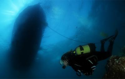 Bono de 10 inmersiones con barco